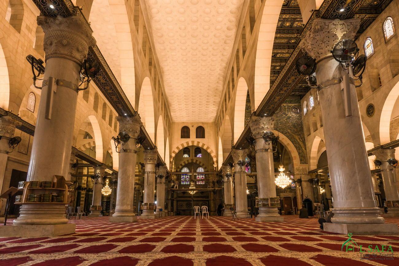 Interior Masjidil Aqsha