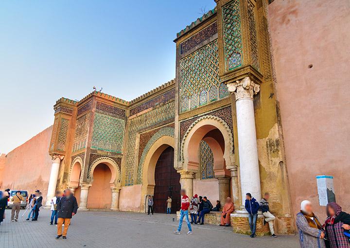 Bab-Mansour al safa travel