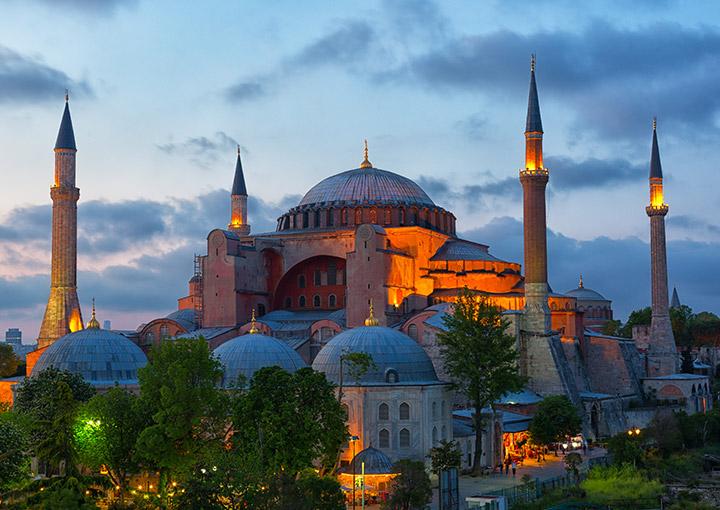 Haga-Sophia, Turkey - al safa travel