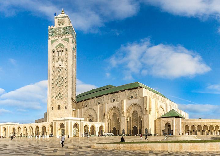 Masjid-Hasan-II, Maroko - al safa travel