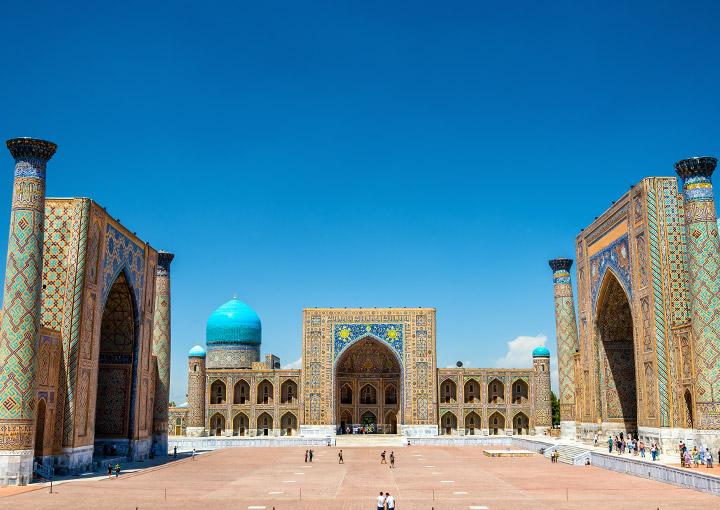 Registan-Square, Uzbekistan al safa travel