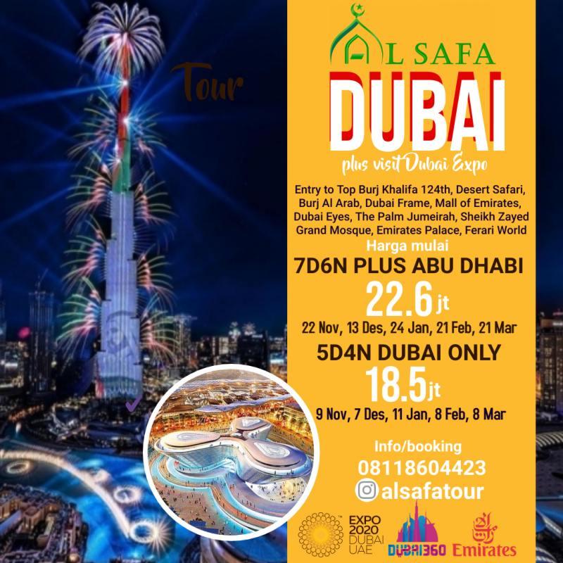 Tour Dubai Expo 21_22