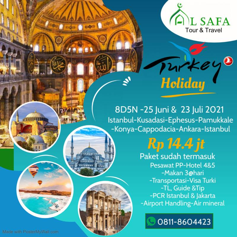 paket tour wisata muslim morocco spain portugal