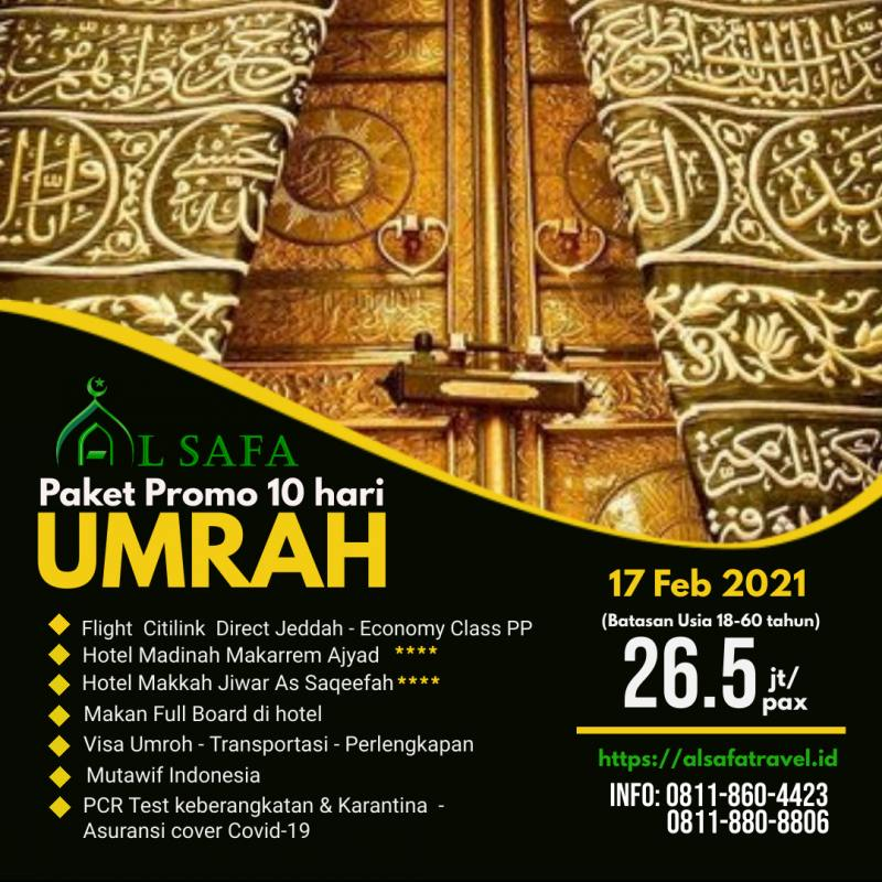 Paket Promo Umroh Feb 2021